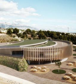 Benidorm presenta el proyecto del albergue juvenil y centro de interpretación...