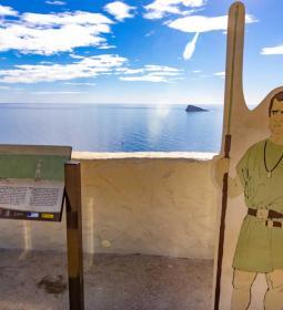 Cerca de 11.500 personas han visitado el Tossal de La Cala durante julio y ag...