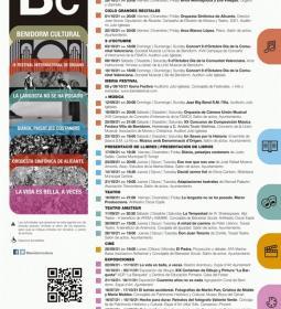 Música, teatro, exposiciones, presentaciones de libros y cine, en la programa...