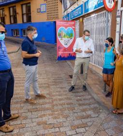 Benidorm crea una nueva vía de plataforma única en la calle Condestable Zarag...
