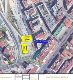 Talls puntuals fins al divendres al carrer Atocha i limítrofes per treballs d…