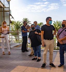 Benidorm adds to its cultural offer a new Espai d'Art Urba, 'El Campo'