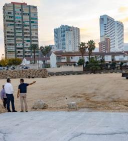 Benidorm crea un nou pàrquing dissuasori d'unes 250 places en Juan Fuste…