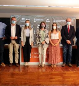 Toni Pérez attends the opening of the IV Master of Rices and Mediterranean Ha…