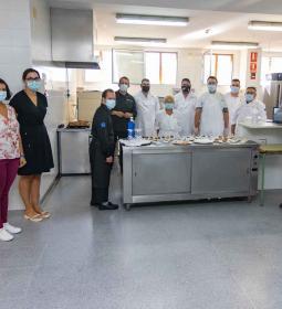 10 usuarios del CRIS participan en un curso de formación culinaria en el CdT