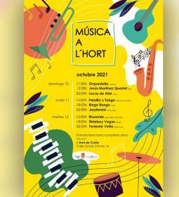 Benidorm estrena durante el Puente 'Música a l'Hort', con 9 conciertos gratui...