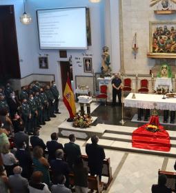 La Guardia Civil celebra en Benidorm la festividad de su patrona, la Virgen d...
