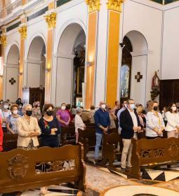 Misa de las amas de casa de Benidorm en la festividad de Santa Teresa