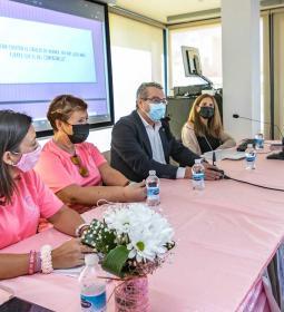 Benidorm commemora amb Anémona el Dia Internacional del Càncer de Mama