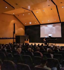 El piano de Aroa Blanco, punto final a los Grandes Recitales de este año en B...