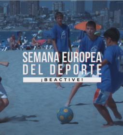 Benidorm, galardonada con el premio CSD-BeActive en la Semana Europea del Dep...