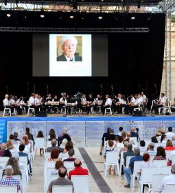 Benidorm closes the events of October 9 with a concert-tribute to Pere Mª Ort…