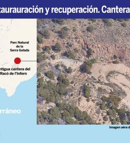 Benidorm refers the project to restore and recover Racó de l'Infern quarry to…