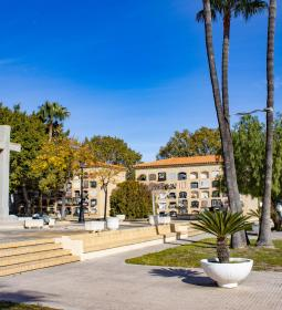 16 New rest benches for Sant Jaume i Verge del Sofratge cemeteries