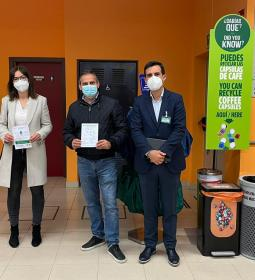 Councilors for Commerce and Environment learn about Mercadona's recyclin…
