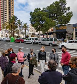 Residents of La Cala evaluate municipal action in the neighborhood