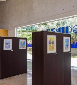 Espai d'Art of the City Council exhibits the designs of the Young Plan contes…