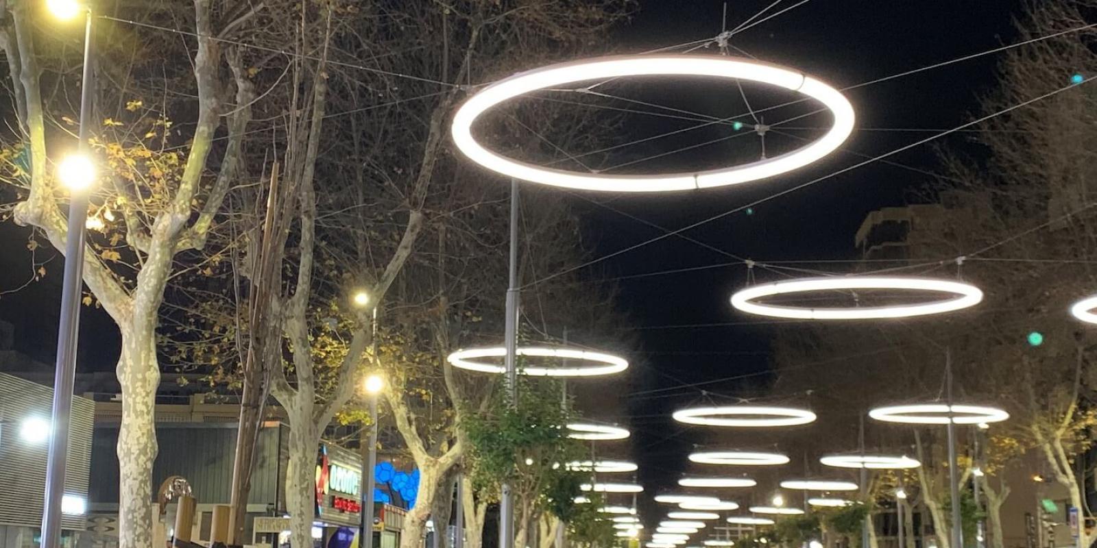 Avenida del Mediterráneo. NOCHE