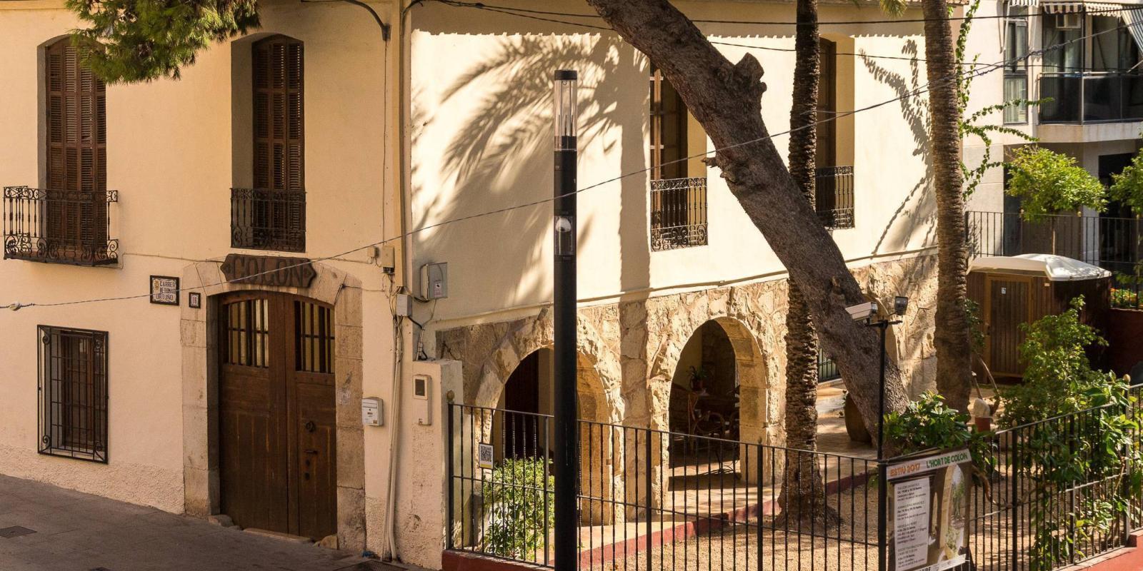 Casa-museo Hort de Colón exterior