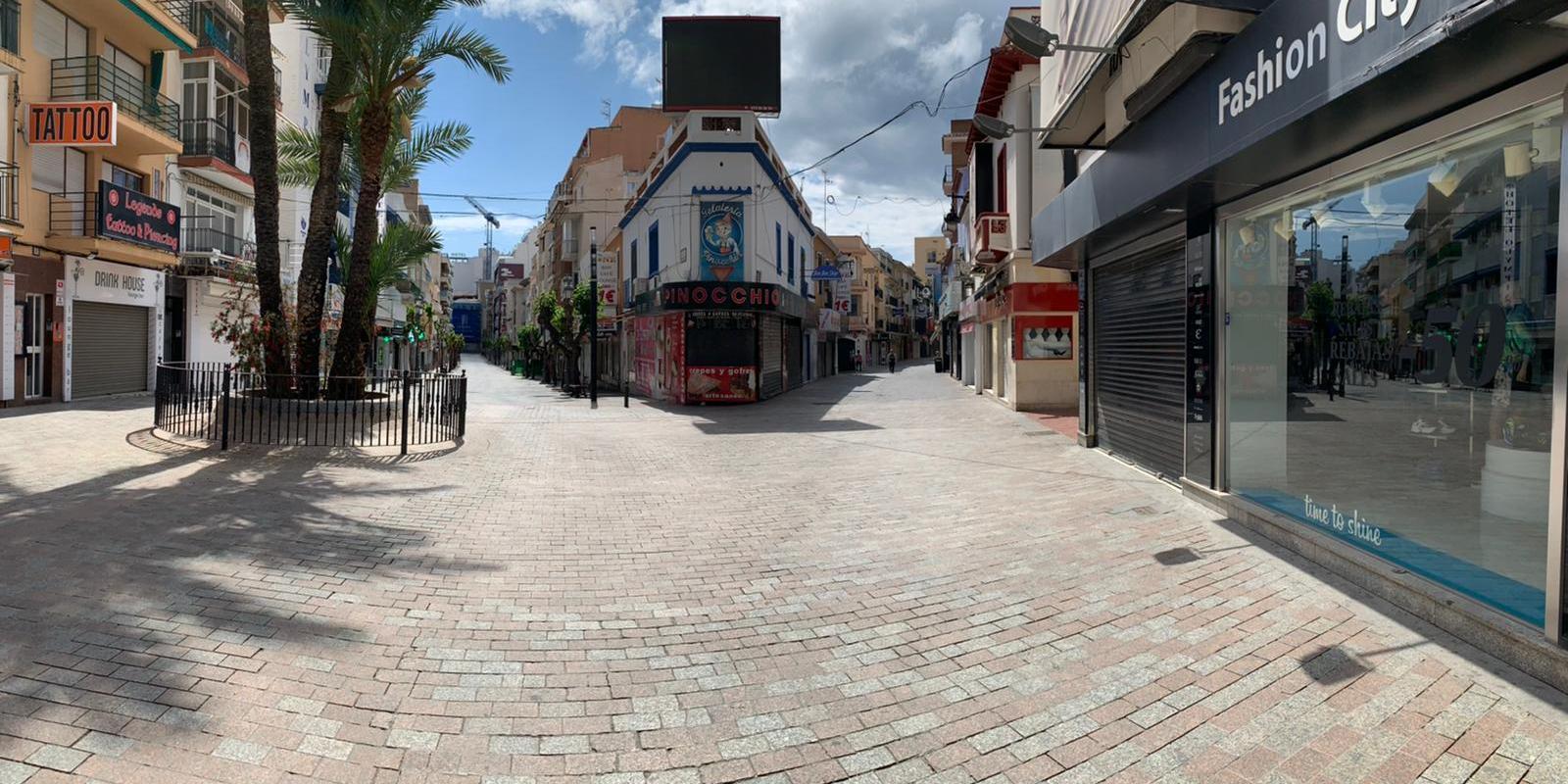 Plaza de la Cruz. Foto Rosa Baldó